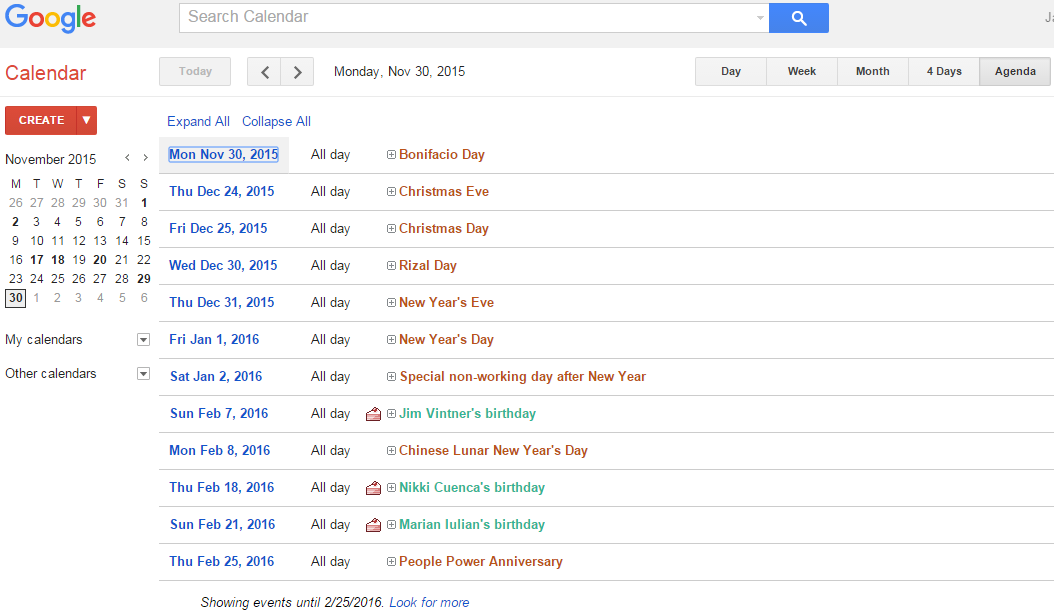 Online Google Calendar App: Sync and Share
