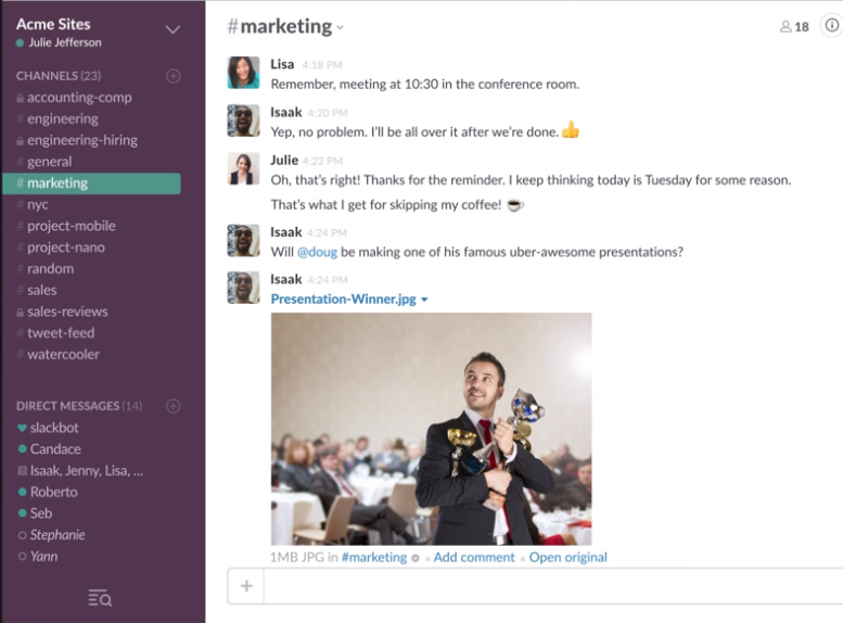 Slack: Messaging App for Teams