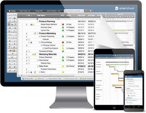Smartsheet: Online Project Management Software