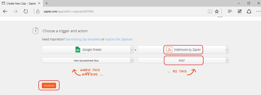 Webhooks by Zapier Notifications: Free Web Callback