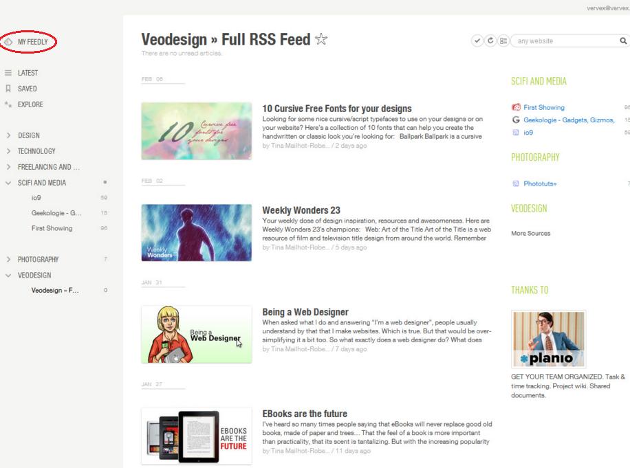 Feedly: News Aggregator App