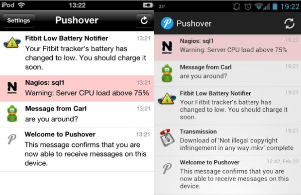 Pushover: Real Time Notification System