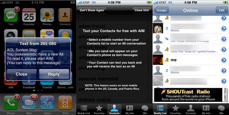AIM: Your Business' Instant Messaging & Presence Computer Program