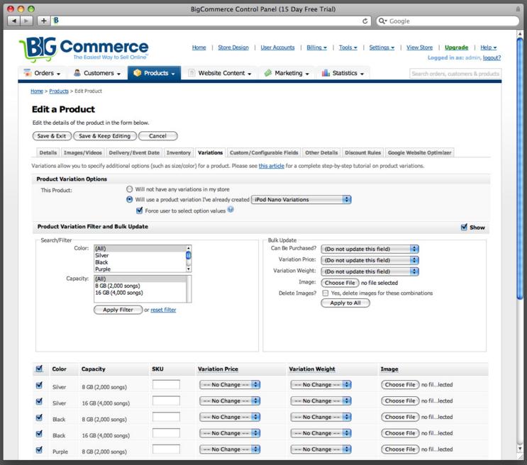 Bigcommerce: Shopping Cart Software & Ecommerce Platform