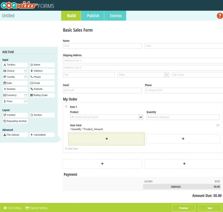 Cognito Forms: Free Online Form Builder