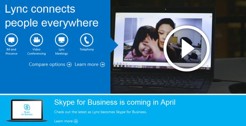 Lync: Webkonferenz- und Webinar-Software von Microsoft