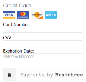 Braintree Accepts Global Payment Processing