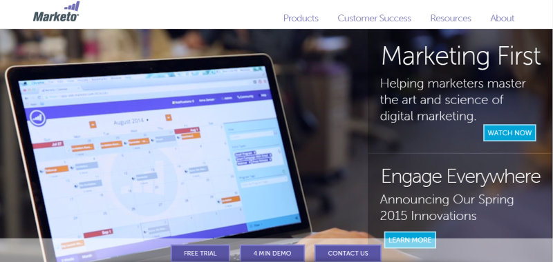 Marketing Automation Software by Marketo