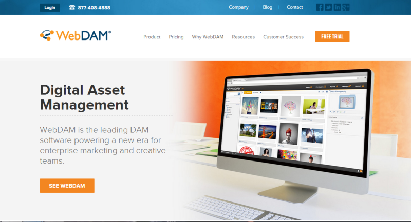 WebDAM - Brand & Digital Asset Management