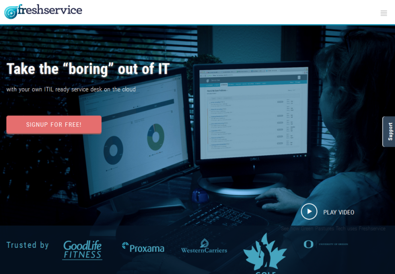 Mobile IT Service Desk mit Freshservice - ITIL-fähig und Cloud-basiert