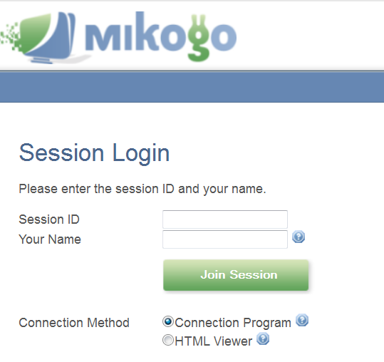 Meeting Software: Mikogo Screen Sharing Meetings