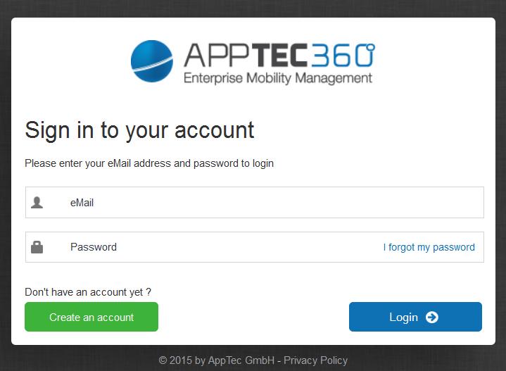 Mobile Device Management: AppTec EMM Mobile Manager