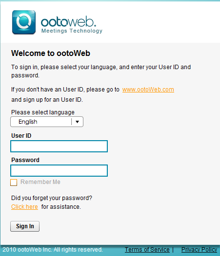 Meeting Software: ootoWeb Mobile Meeting Management